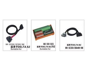 与DELTA伺服连接系列输入、输出端子台模组