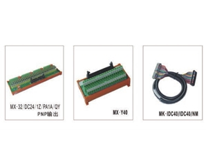 与MITSBISHI M80系列输入、输出模组